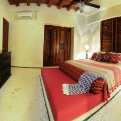 Отель Las Palmas Beachfront Villas Мексика, Коакоюл - отзывы, цены и фото номеров - забронировать отель Las Palmas Beachfront Villas онлайн комната для гостей фото 3