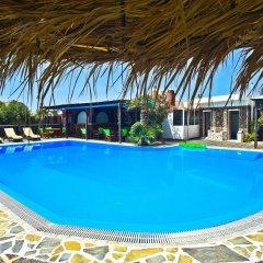 Отель Holiday Beach Resort Греция, Остров Санторини - отзывы, цены и фото номеров - забронировать отель Holiday Beach Resort онлайн бассейн фото 2