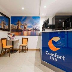 Отель Comfort Inn Hyde Park Лондон гостиничный бар