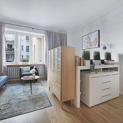Апартаменты P&O Apartments Tamka 3 Варшава комната для гостей