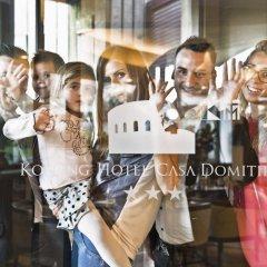 Отель Kolping Hotel Casa Domitilla Италия, Рим - отзывы, цены и фото номеров - забронировать отель Kolping Hotel Casa Domitilla онлайн питание