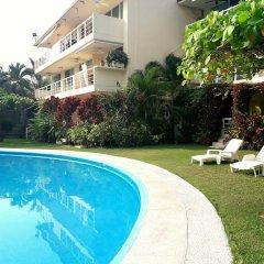 Отель Departamento Real de Palmas бассейн