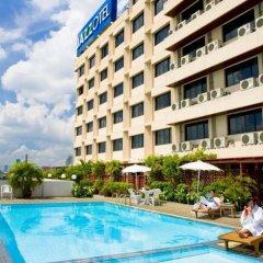 Отель Jazzotel Bangkok Таиланд, Бангкок - отзывы, цены и фото номеров - забронировать отель Jazzotel Bangkok онлайн бассейн