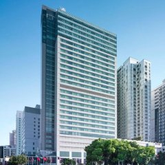 New World Shanghai Hotel Шанхай парковка