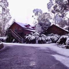 Отель Lemonthyme Wilderness Retreat парковка