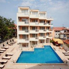Отель Obzor City Hotel Болгария, Аврен - отзывы, цены и фото номеров - забронировать отель Obzor City Hotel онлайн бассейн