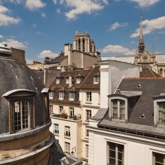 Отель Melia Paris Notre-Dame Франция, Париж - отзывы, цены и фото номеров - забронировать отель Melia Paris Notre-Dame онлайн балкон