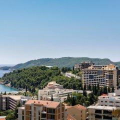 Отель Luxury Harmonia Apartments Черногория, Будва - отзывы, цены и фото номеров - забронировать отель Luxury Harmonia Apartments онлайн пляж фото 2