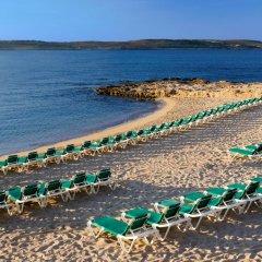 Отель Paradise Bay Hotel Мальта, Меллиха - 8 отзывов об отеле, цены и фото номеров - забронировать отель Paradise Bay Hotel онлайн пляж фото 2