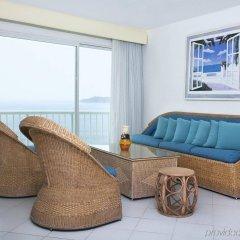 Отель Calinda Beach Acapulco комната для гостей фото 4