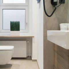 Отель dasPaul Aparthotel Германия, Нюрнберг - отзывы, цены и фото номеров - забронировать отель dasPaul Aparthotel онлайн ванная