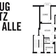 Отель Green Residence Leipzig Германия, Зюдфорштадт - отзывы, цены и фото номеров - забронировать отель Green Residence Leipzig онлайн с домашними животными