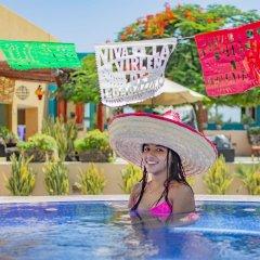 Hotel Los Patios Кабо-Сан-Лукас бассейн