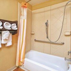 Отель La Quinta Inn & Suites Columbus West - Hilliard США, Колумбус - 1 отзыв об отеле, цены и фото номеров - забронировать отель La Quinta Inn & Suites Columbus West - Hilliard онлайн ванная фото 2