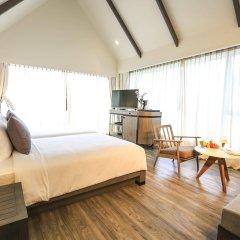 Отель Celes Beachfront Resort Самуи комната для гостей
