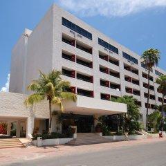 Отель Smart Cancun by Oasis Мексика, Канкун - 2 отзыва об отеле, цены и фото номеров - забронировать отель Smart Cancun by Oasis онлайн вид на фасад фото 3