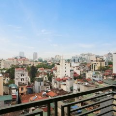 Rosaliza Hotel Hanoi балкон