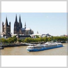 Отель Messe Cruise Dusseldorf Deluxe пляж