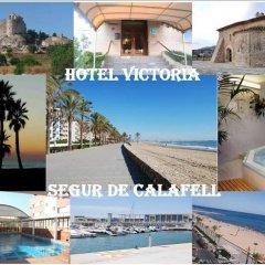 Hotel Victoria пляж фото 2