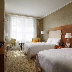 Гостиница Marriott Novy Arbat 5* Улучшенный номер с различными типами кроватей фото 7