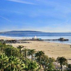 Fairmont Miramar Hotel & Bungalows Санта-Моника пляж