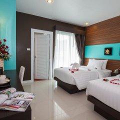 Tuana Patong Holiday Hotel 3* Улучшенный номер с различными типами кроватей