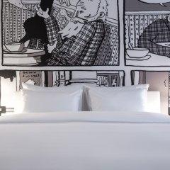 Отель Radisson RED Brussels 4* Стандартный номер с различными типами кроватей фото 16