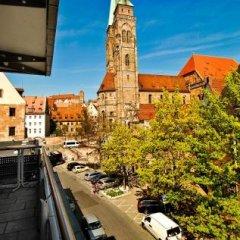 Отель Central Германия, Нюрнберг - отзывы, цены и фото номеров - забронировать отель Central онлайн балкон