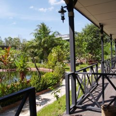 Отель Cowboy Farm Resort Pattaya балкон
