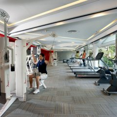 Отель Dusit Thani Bangkok Бангкок фитнесс-зал