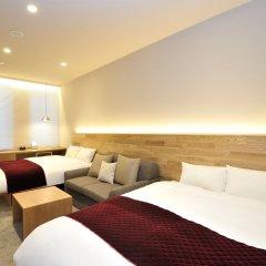 hotel androoms Osaka Hommachi комната для гостей фото 3