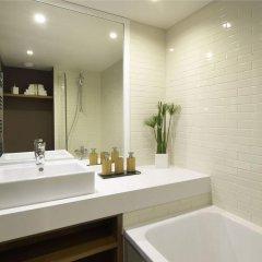 Отель Citadines Les Halles Paris Франция, Париж - 3 отзыва об отеле, цены и фото номеров - забронировать отель Citadines Les Halles Paris онлайн ванная фото 2