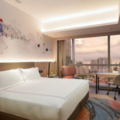 Отель Capri by Fraser China Square Singapore комната для гостей
