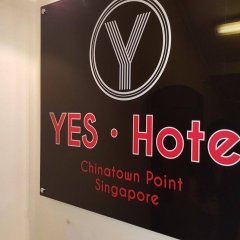 Отель Yes Chinatown Point Сингапур фитнесс-зал