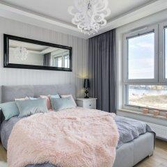 Апартаменты Elite Apartments Cityview Center Гданьск комната для гостей фото 3