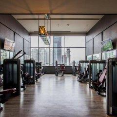 Отель Bangkok Marriott Marquis Queen's Park фитнесс-зал фото 3