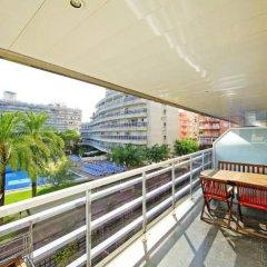 Отель Apartamentos S'Abanell Central Park Испания, Бланес - отзывы, цены и фото номеров - забронировать отель Apartamentos S'Abanell Central Park онлайн балкон