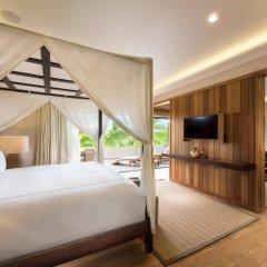 Отель Conrad Bora Bora Nui Французская Полинезия, Бора-Бора - 8 отзывов об отеле, цены и фото номеров - забронировать отель Conrad Bora Bora Nui онлайн комната для гостей фото 3