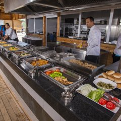 Отель Palm World Resort & Spa Side - All Inclusive Сиде питание