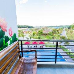 Отель Hamya Hotsprings and Resort балкон
