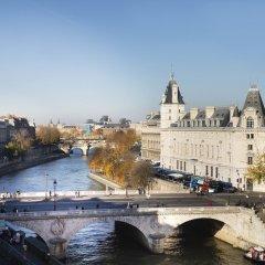 Отель Rives De Notre Dame Париж приотельная территория фото 2