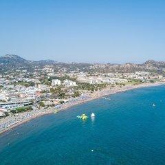 Achousa Hotel пляж фото 2