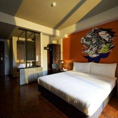 Отель Cacha Hotel Таиланд, Бангкок - 1 отзыв об отеле, цены и фото номеров - забронировать отель Cacha Hotel онлайн комната для гостей фото 3
