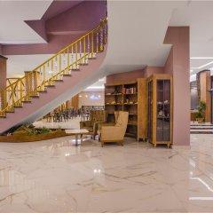 Meridia Beach Hotel Турция, Окурджалар - отзывы, цены и фото номеров - забронировать отель Meridia Beach Hotel онлайн интерьер отеля фото 3