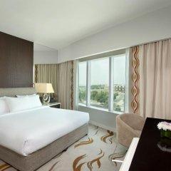 Отель Hilton Capital Grand Abu Dhabi 5* Люкс повышенной комфортности с различными типами кроватей фото 5