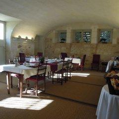 Отель Chateau De Verrieres Сомюр питание фото 2
