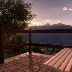 Отель Residence Les Fleurs Италия, Грессан - отзывы, цены и фото номеров - забронировать отель Residence Les Fleurs онлайн балкон