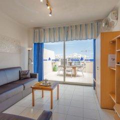Отель Morina Penthouse Мальта, Сан Джулианс - отзывы, цены и фото номеров - забронировать отель Morina Penthouse онлайн комната для гостей фото 4