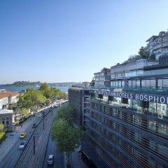 Отель Metropolitan Hotels Bosphorus пляж