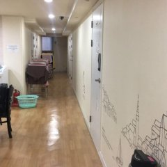 Отель Patio 59 Hongdae Guesthouse Южная Корея, Сеул - отзывы, цены и фото номеров - забронировать отель Patio 59 Hongdae Guesthouse онлайн интерьер отеля фото 3